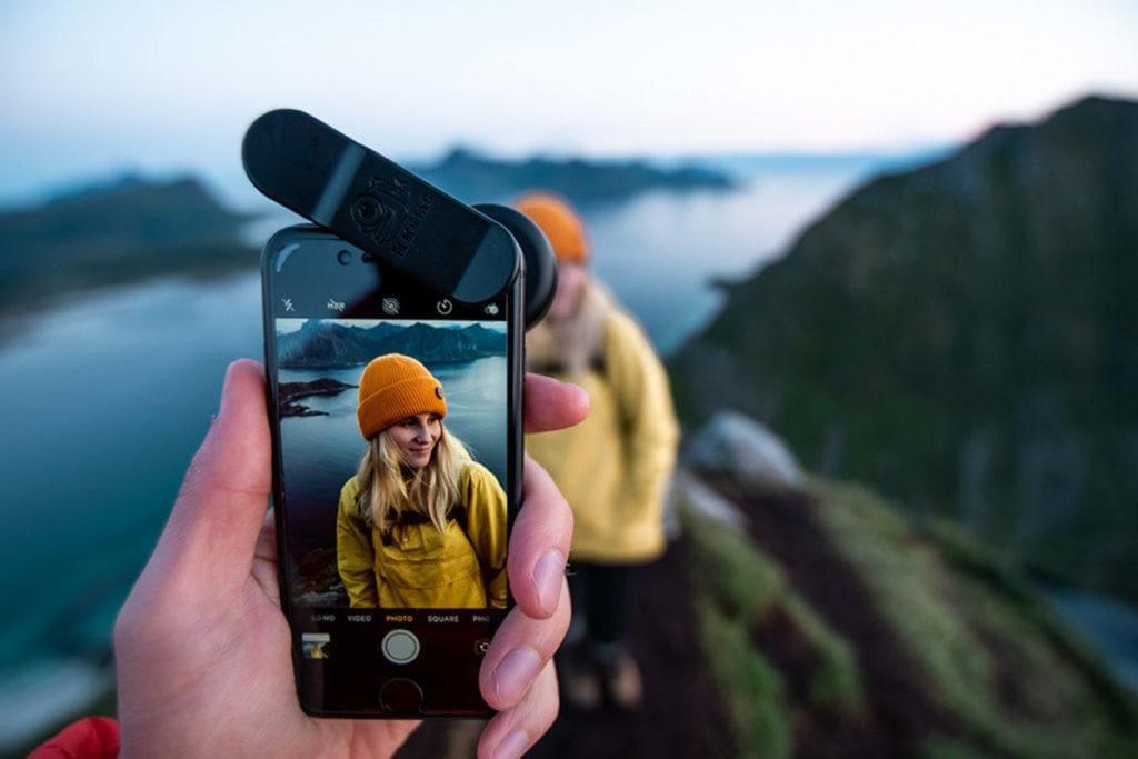 Fotograaf Damon Beckford testte de Pro Portrait Tele G4 tijdens een road trip door Scandinavië.