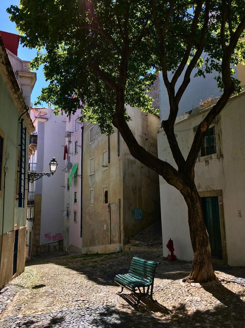 Lissabon - foto met tegenlicht