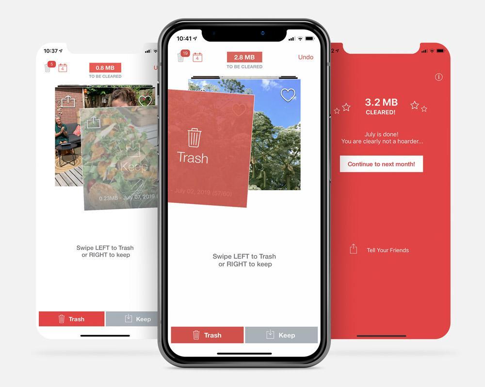 De app Flic verwijdert foto's van je iPhone op de Tinder-manier