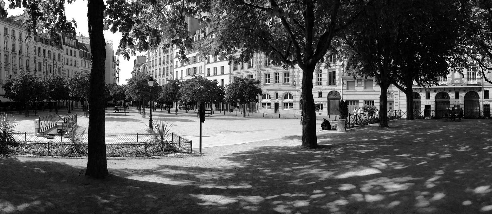 Place Dauphine in Parijs