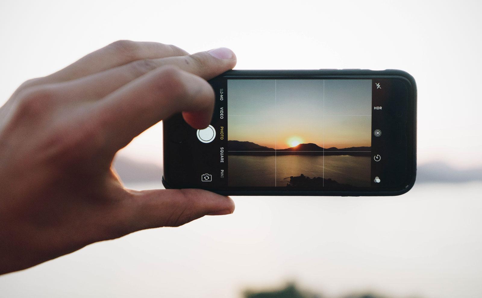 Regel van derden instellen in je iPhone-camera-app