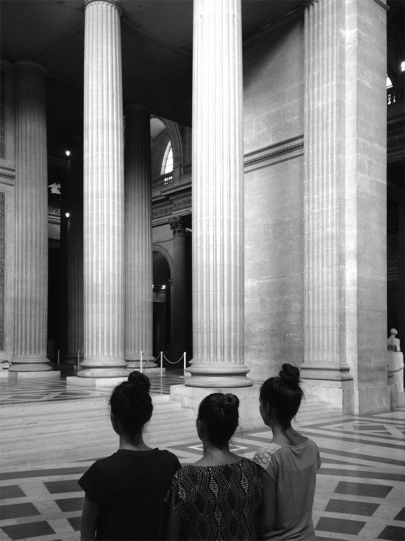 Zwart-wit-fotografie in Parijs