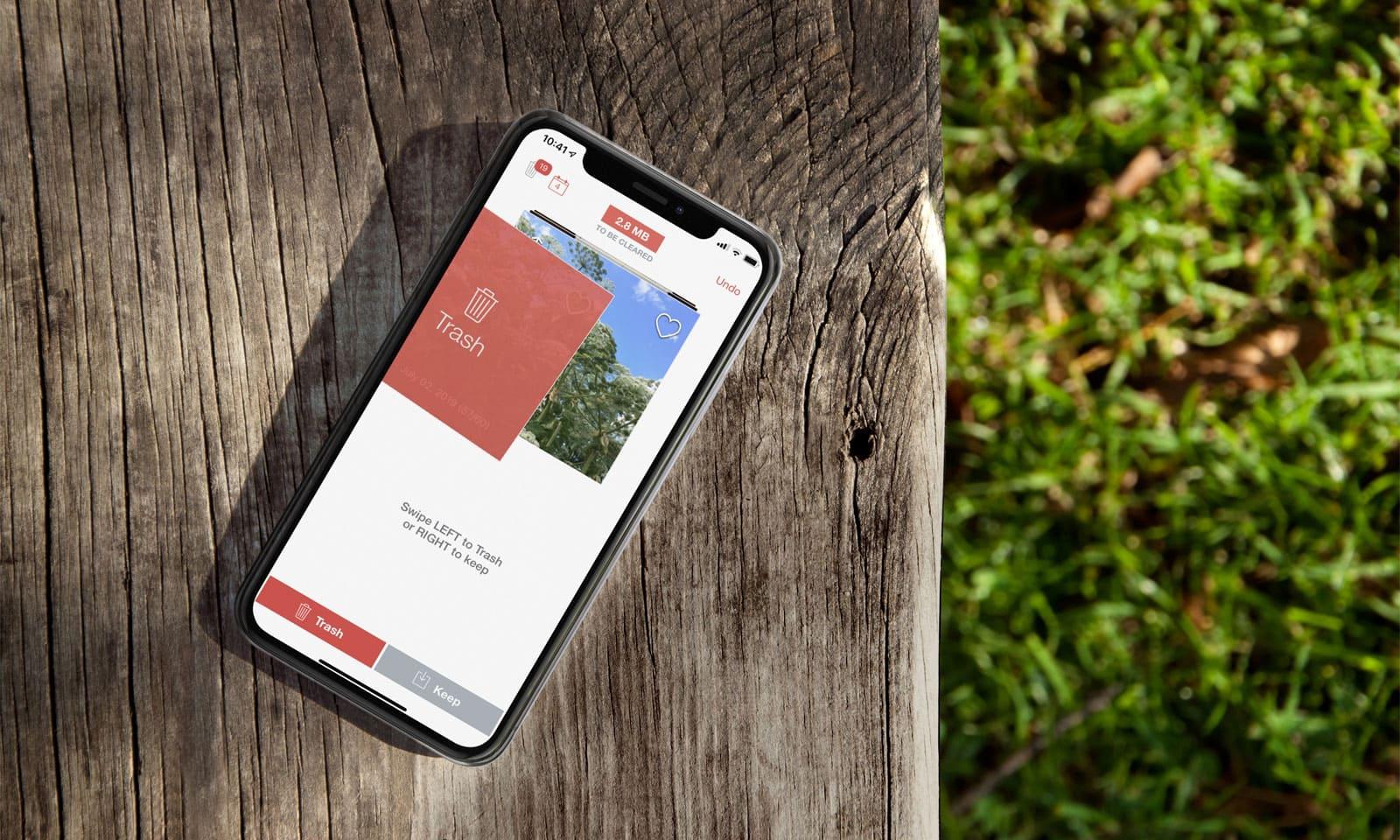 De app Flic verwijdert je foto's snel van je iPhone