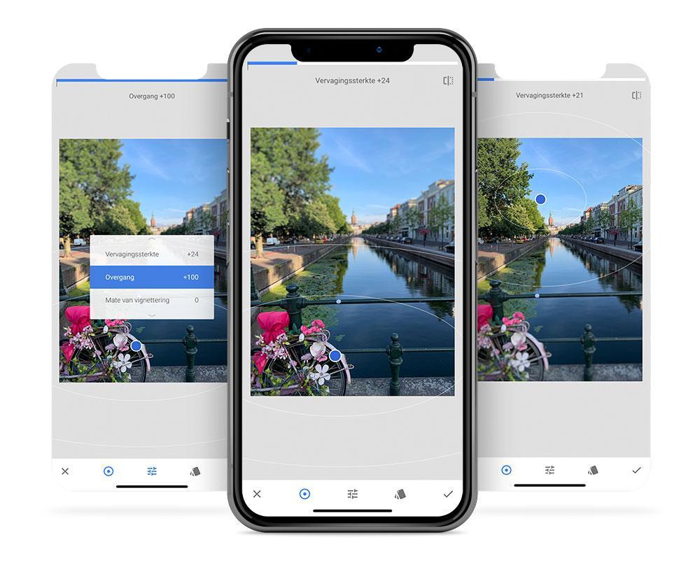Snapseed-tips: scherptediepte aanbrengen met de tool Focus