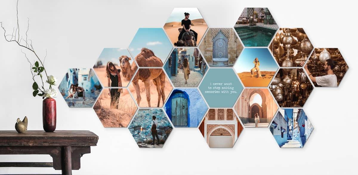 Cadeautips fotograaf: Hexagon-foto's