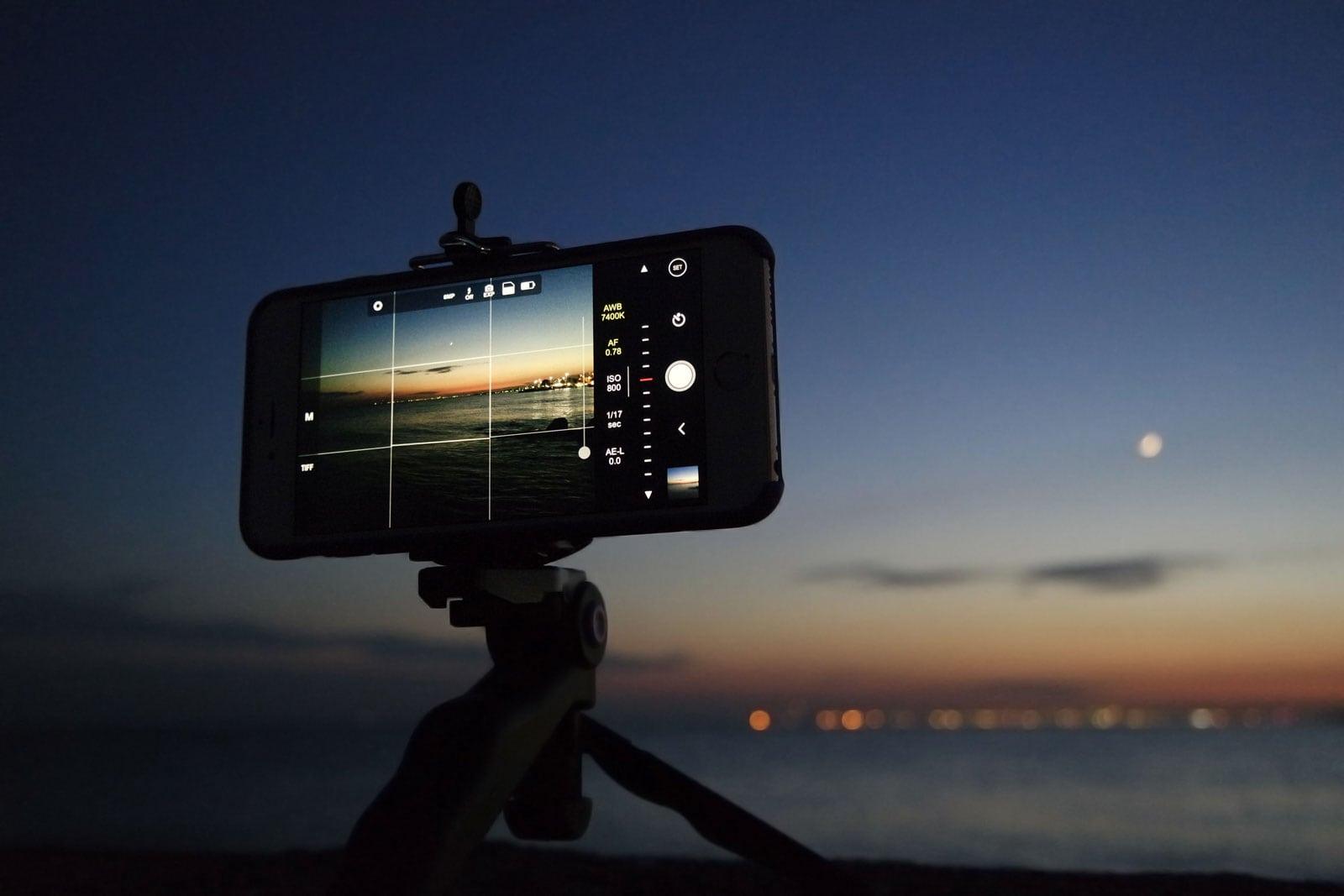 Telefoon statief voor iPhone, Samsung, Huawei OnePlus, Pixel
