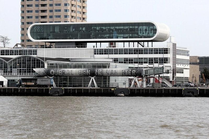 Het Nationaal Fotomuseum in Rotterdam