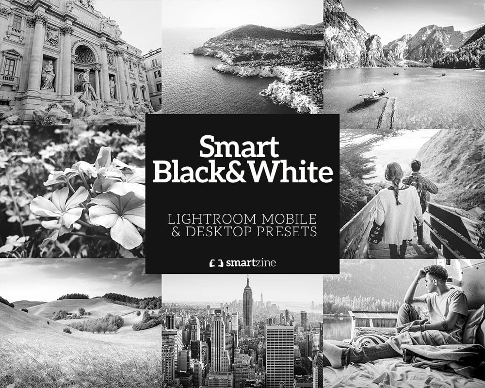 Smart Black&White presets voor Lightroom mobile