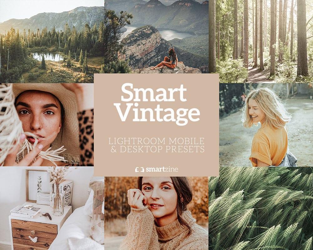 Smartzine vintage presets voor Lightroom