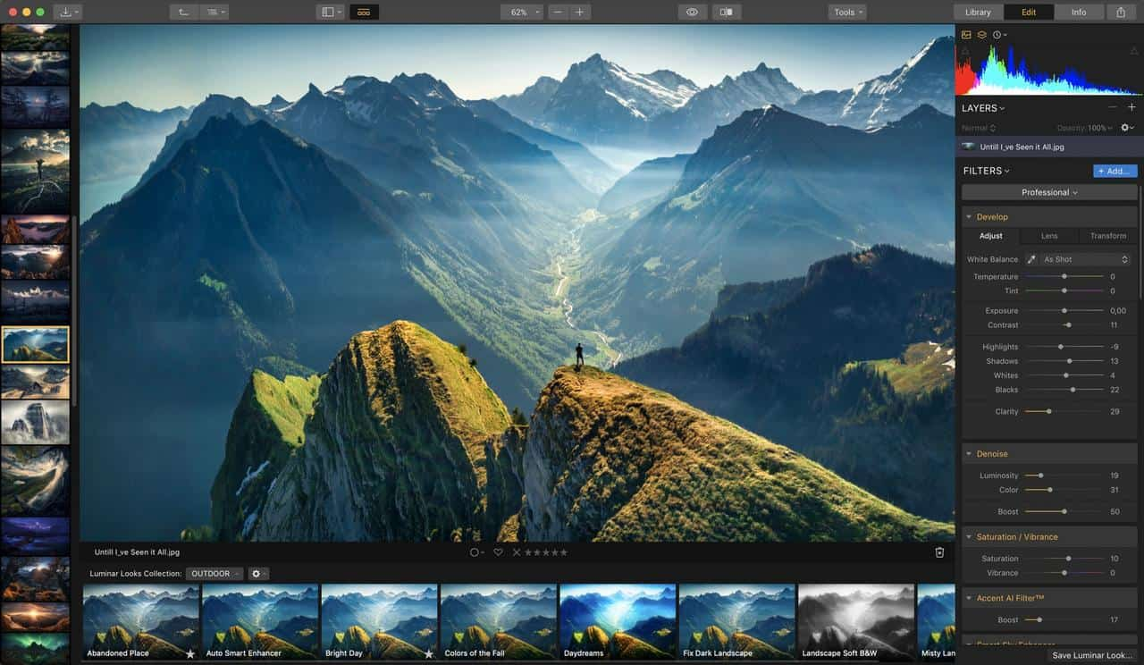 Luminar: perfect alternatief voor Photoshop en Lightroom, maar ook als cadeau voor smartphone-fotograaf