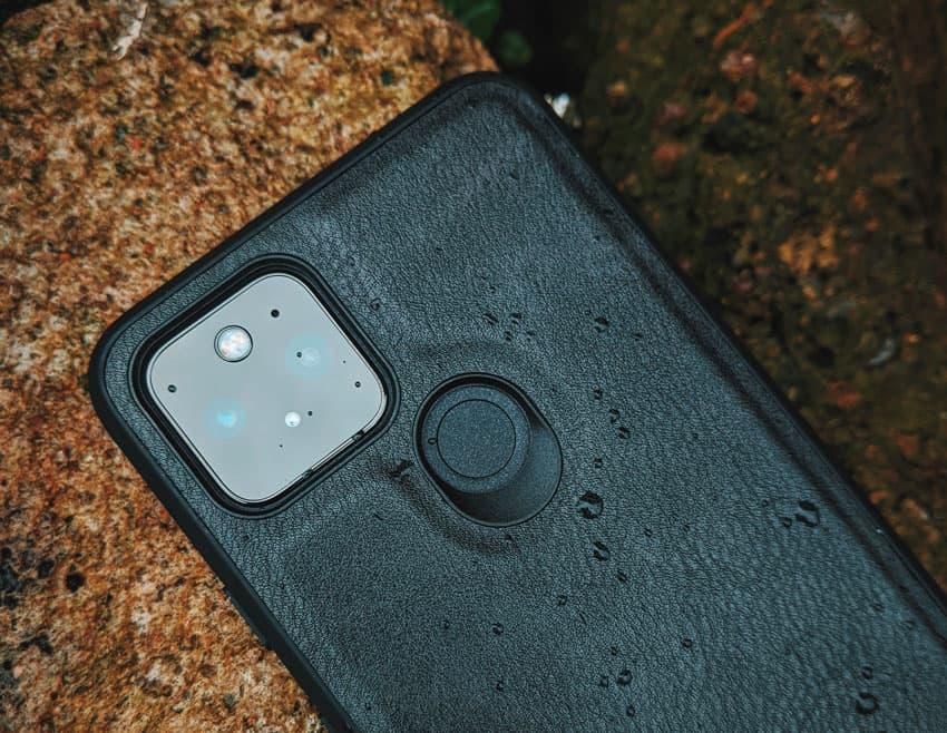 Waterdichte smartphone