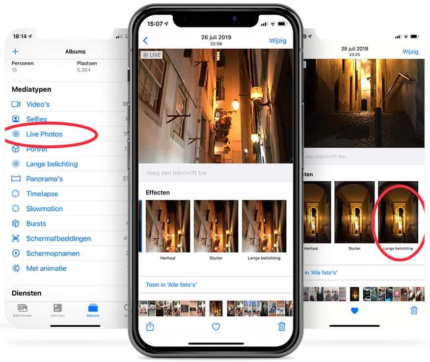 Slimme hack smartphone fotografie: Ruis weghalen met Live Photos
