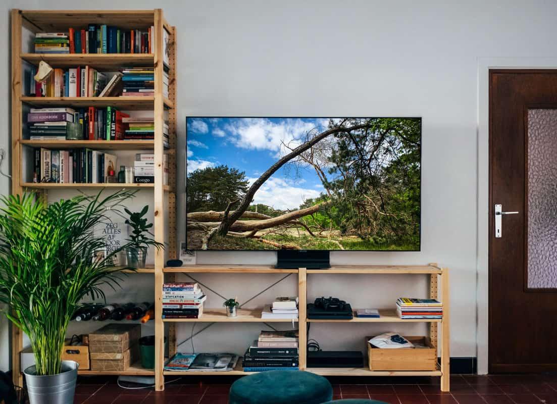 Slimme fotografie-hack: tv-scherm als achtergrond