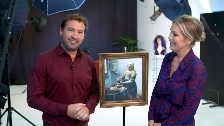 Photo Class review - schilderij van melkmeisje