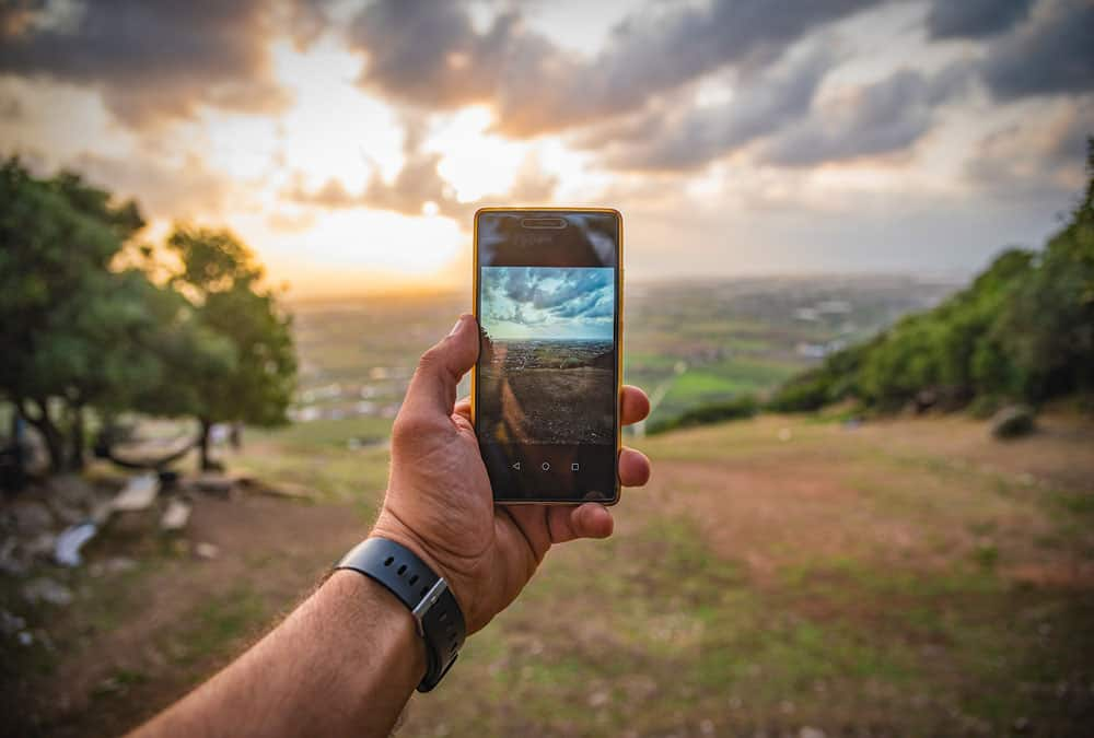 Telefoon stil houden om wazige foto's te voorkomen