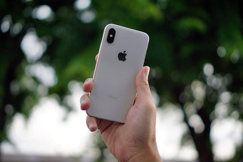 iPhone met twee lenzen