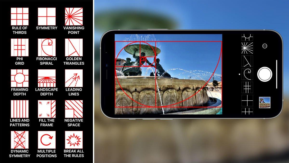 Wise Camera: app met compositieregels