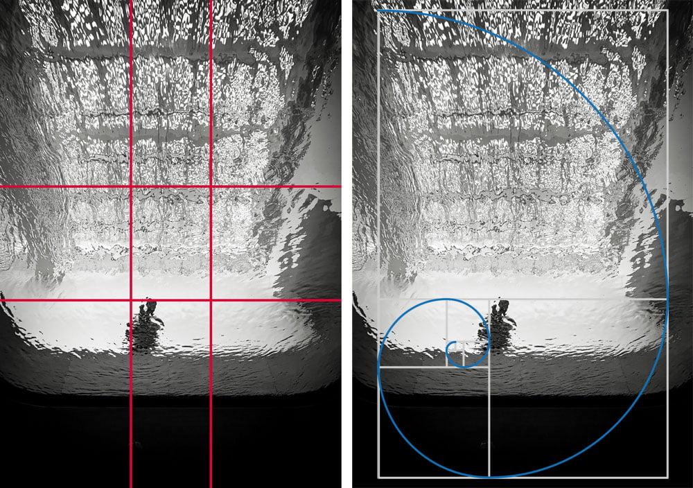 Compositie in de fotografie: de gulden snede en de Fibonacci-spiraal