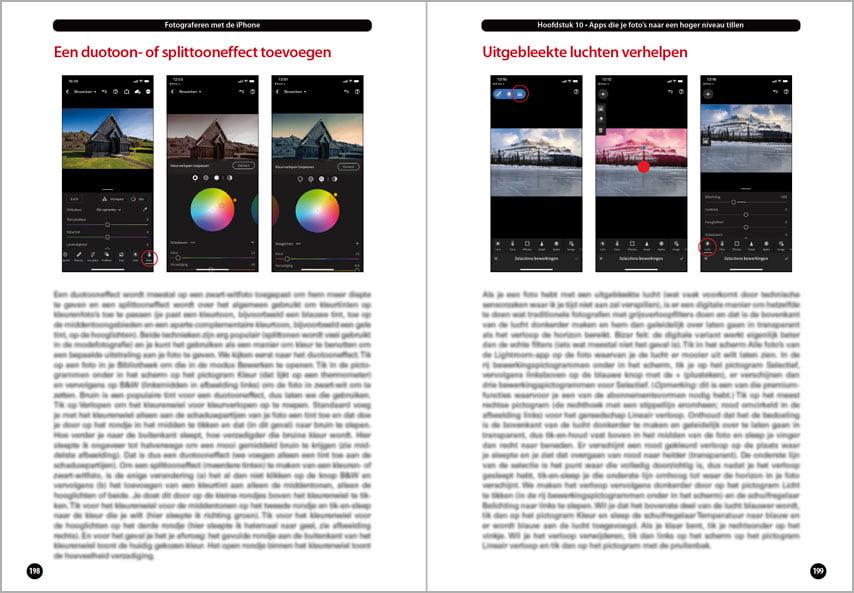 Fotobewerking in Lightroom op de iPhone