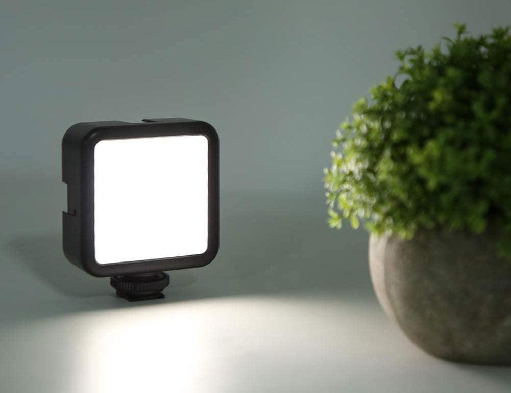 Extra licht bij filmen met Samsung mobiel