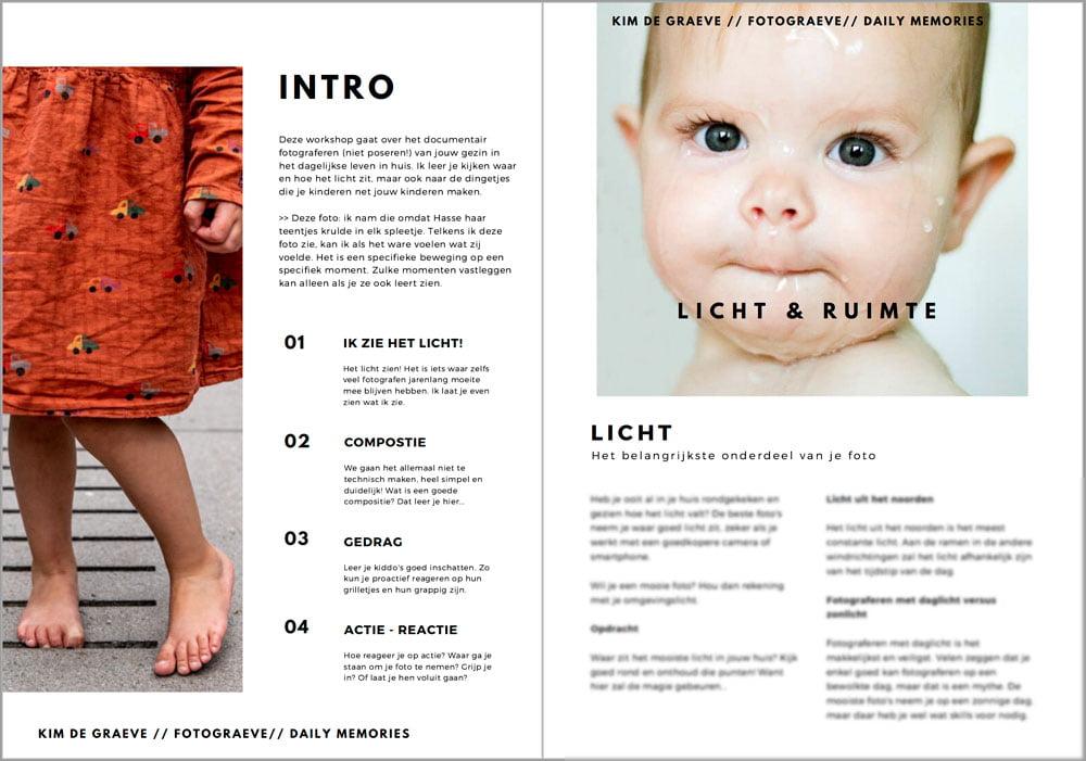 Kinderfotografie: een online cursus van Fotograeve (Kim de Graeve)