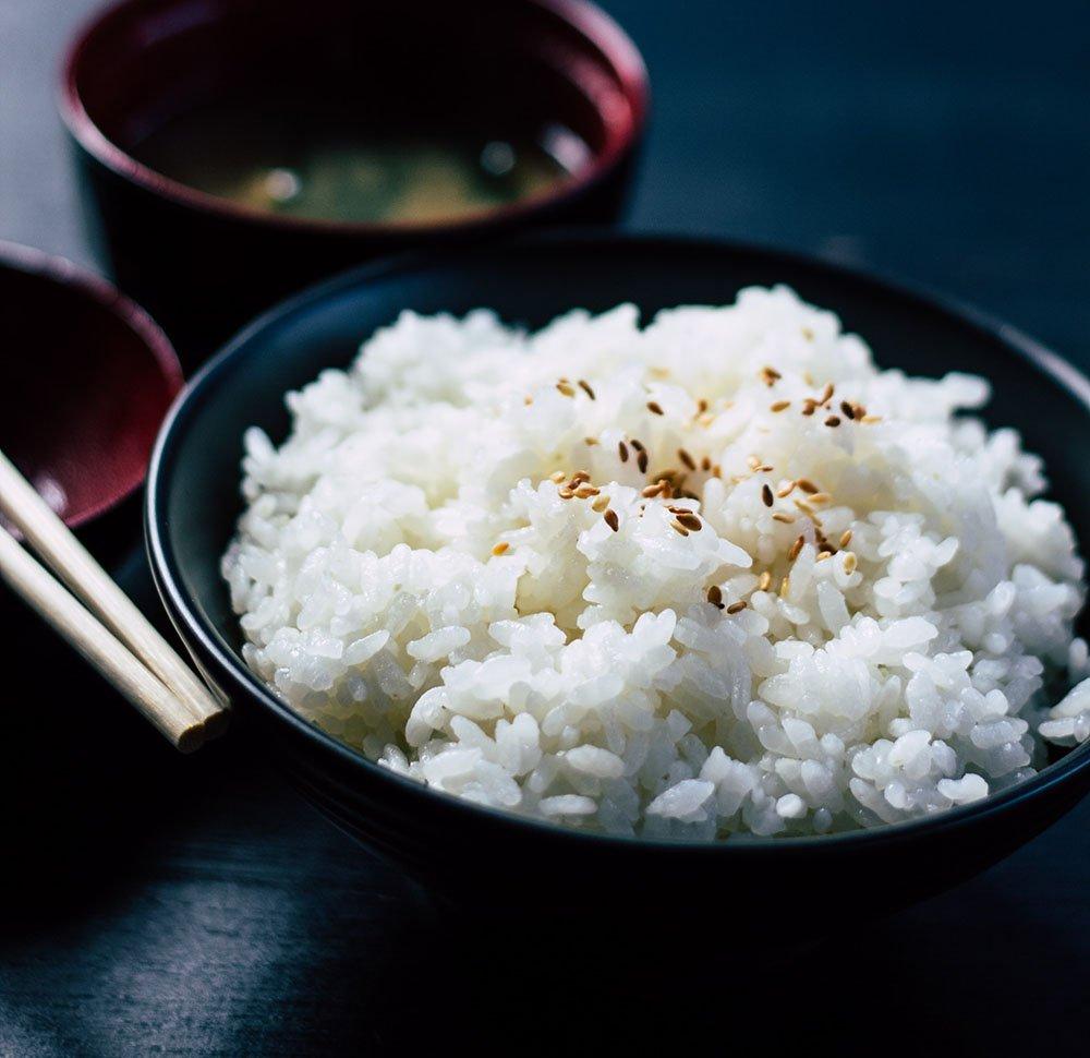 Food fotografie met je smartphone: rijst met scherptediepte
